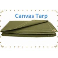 Best Green Color Polyester Tarpaulin Cotton Tarpualin Canvas Tarp Canvas Tarpaulin wholesale