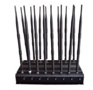 Best 16 Antennas High Power Jammer CDMA GSM DCS PHS PCS 3G WCDMA 4G LTE wholesale