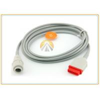 Best GE Round Invasive Blood Pressure Cable 11 Pin To Edwards Medical Grade Material wholesale