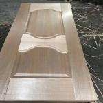 Best Modern style 2.5mm 3mm High density Wood veneer Door skin for sale wholesale