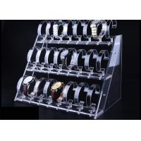 China 3 Tier Transparent Acrylic Watch Display Stand For Casio Watch Display on sale