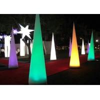 Best Conical Balloon Light Up Inflatables Eco Friendly PVC Coated Nylon Materials wholesale
