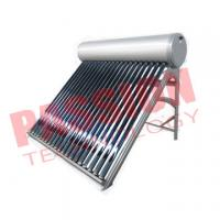 Best 200L Tube Solar Hot Water System For Shower wholesale