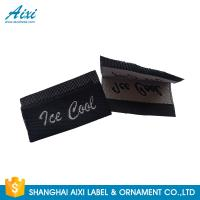 Buy cheap Silk Screen Care Woven Clothing Labels , Washable Apparel Labels For Garment from wholesalers