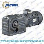 Best 45KW 55KW 75KW K Series helical gear spiral bevel gear reducer Specifications wholesale