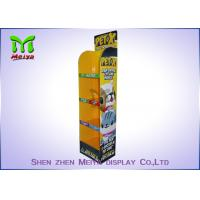 Best B flute 4 shelves Pop Custom Cardboard Displays , Carton Display Stand for Dogs And Cats wholesale