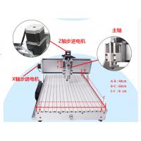 Best Free Shipping 4 Axis CNC 6040CH80 engraver with rotary axis and 1.5KW spindle, four axis wholesale