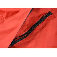 Best Red Color Mens Waterproof Overalls , European Size Cotton Work Coveralls wholesale