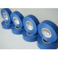 Best Blue Adhesive Insulation Tape , Shiny Heat Resistant Electrical Tape wholesale