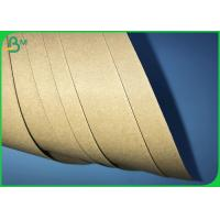 China 250gsm 300gsm 350gsm High Toughness Brown Kraft Board For Packages Boxes on sale
