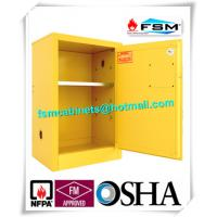 Best Flammable Liquid Safety Storage Cabinets Adjustable Shelf For Chemical Hazardous Goods wholesale