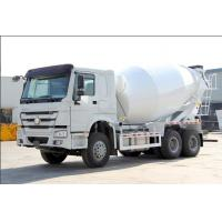 ZF8118 Hydraulic Steering Howo Concrete Mixer Truck 371hp Euro 2 400L Fuel Tank