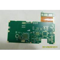 Best 12 Layer Immersion FR4 & Polyimide Gold Noise Reduction Rigid Flex Board / Flex Rigid PCB For Game Machine wholesale