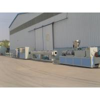 Best Drainage and Water Supply PVC Pipe Extrusion Line / Plastic Extruder wholesale