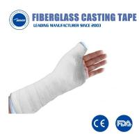 Buy cheap Durable Fiberglass Casting Tape waterproof Soft Cast Bandage Medical Cast Tapes orthopedic from wholesalers