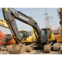 Best 1.1cbm Bucket Volvo 210 Excavator For Sale , Second Hand Mini Diggers Year 2008 wholesale