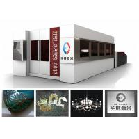 Quality Metal Plate And Steel Tubes Fiber Metal Laser Cutting Machine For Advertising Board wholesale