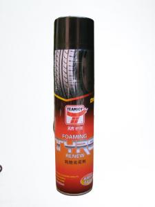 Best Quick Drying 650ML Car Tyre Foam Cleaner Tire Shine Spray TUV approved wholesale