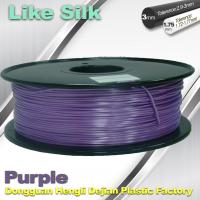 Best Purple Color Polymer Composites 3d Printing Plastic Filament High Gloss wholesale
