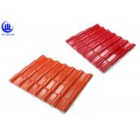Best Asa Coated Corrosion Resistance roofing Materials plastic Spanish Roof Tile wholesale