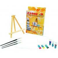 Best Beautiful Oil Painting Sets For Adults With Table Triangular Easel wholesale