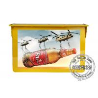 China Gold Roof Hanging HDMI Automotive Digital Signage 27 Inch Shock Proof Metal Housing on sale