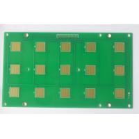 Best FR4 PCB Prototype Fabrication 2 Layers 1oz Copper Thickness Green Soldmask wholesale