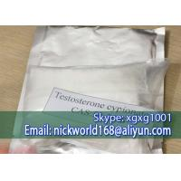 Best CAS 58-22-0 Testosterone Enanthate Powder White Crystalline Odourless Solid For Testing wholesale