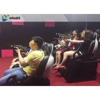 Best Indoor 3 Seater Shooting Gun Game 7D Cinema Movie Theater Interactive Machine wholesale