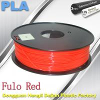 Cheap 1.75 / 3mm Fluorescent Filament   PLA Fluo filament  bright color filament for sale