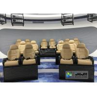 Best Attractive 5D Mobile Movie Theater Fiber Glasses Structure 3.75 KW 380V wholesale