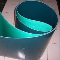 Best Dark green polyurethane PU conveyor belt smooth surface wholesale