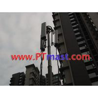 China High mobile telescopic antenna tower and telecommunication mast on sale
