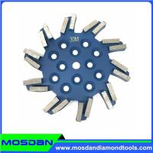 Best 10 Inch 20 Seg Diamond Floor Grinding Plate wholesale
