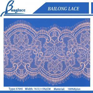 China Eyelash Laces/Lace Trim for wedding dresses-E7045 on sale
