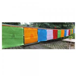 Best Satin Polyester L7m Tibetan Prayer Flags wholesale