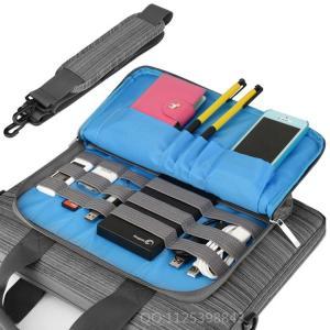 Best Adjustable Nylon Mens Messenger Laptop Bags Grey Color For Macbook Pro wholesale