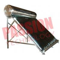 Best 200L Economical Vacuum Tube Solar Water Heater System Compact Structure wholesale