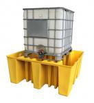 Best IBC Tank Storage Safety Spill Pallet, PE Spill Containments For IBC Tank Storage wholesale