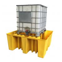 Cheap Large Capacity Safety Spill Pallet , PE Spill Containments For IBC Tank Storage for sale