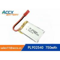 Best rc helicopter battery 3.7v 902540 li polymer battery 750mah 25C high rate battery pl902530 wholesale