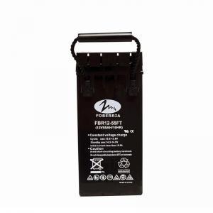 Best 31kg 12 Volt 55ah Agm Deep Cycle Battery Front Terminal Batteries For Telecom wholesale