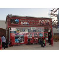 Best Fiber Glass Material 5D Movie Theater with Pneumaitc / Hydraulic / Electric System wholesale
