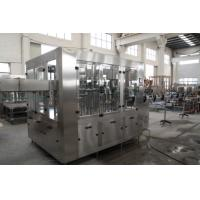 10000BPH Soft Drinks Production Line Glass /Pet Round Bottle Gas Water Filling Machine