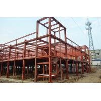 Quality Clear Span Prefabricated Industrial Buildings Galvanized Insulation Energy Saving wholesale