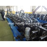 Quality Chain Driven Roofing Sheet Making Machine , Big Shaft  Metal Roof Roll Forming Machine 20.5 Kw wholesale