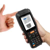 Best 4GB Industrial Barcode Scanner 7.4V 3400mAH Lithium Battery With Thermal Printer wholesale