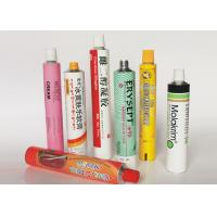 Best Soft Empty Toothpaste Tubes , Colorful  Hand Cream Empty Aluminum Tubes wholesale