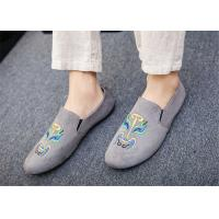 Best Black Gray Blue Loafer Slip On Shoes Driving Moccasins Shoes Breathable wholesale