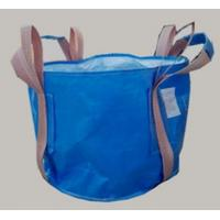 Best Two Loop Blue Food Grade FIBC Circular FIBC Bag With 4 Lifting UV Treated wholesale